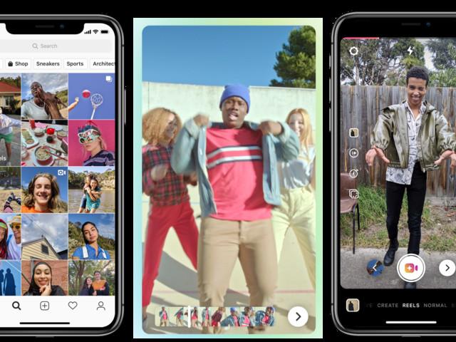 Avec « Reels », Instagram s'attaque aux vidéos musicales de TikTok