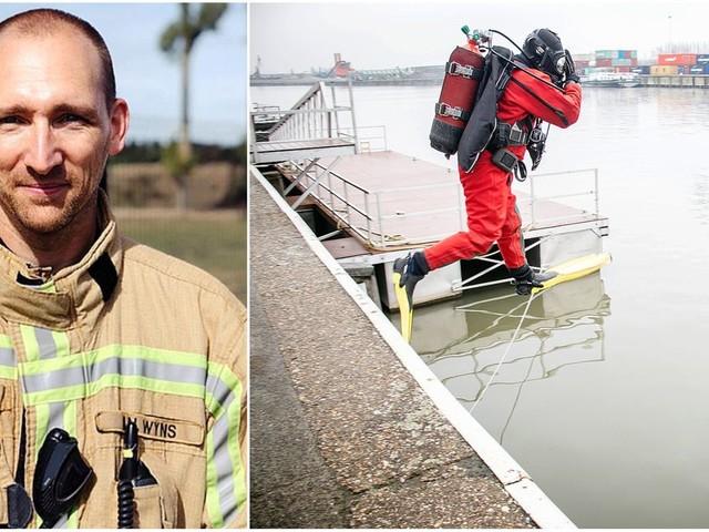 """Pompier plongeur, un métier méconnu: """"Les interventions sont parfois très dangereuses et nous mettons notre vie en danger"""""""