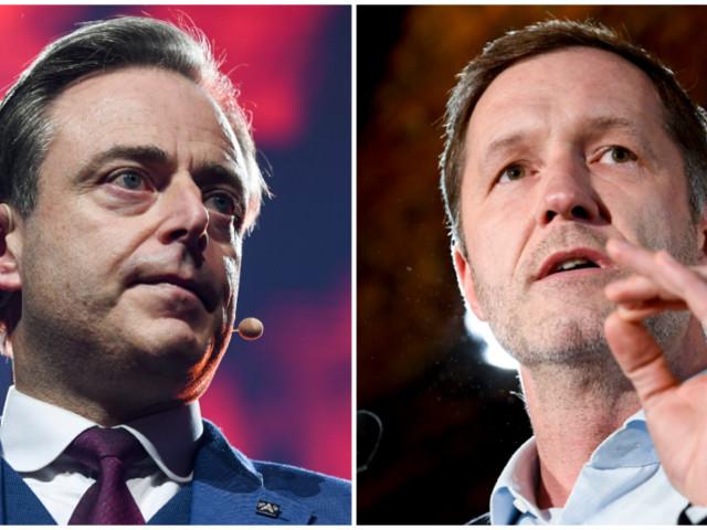 Wie springt mee in de dans: de chicken game van Paul Magnette en Bart De Wever met liberalen en groenen