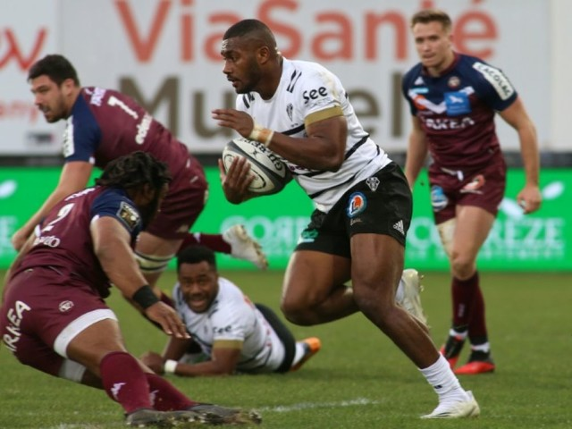 Top 14: Brive freine Bordeaux-Bègles