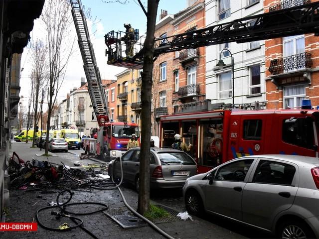 Twee kinderen overleden bij woningbrand in Laken