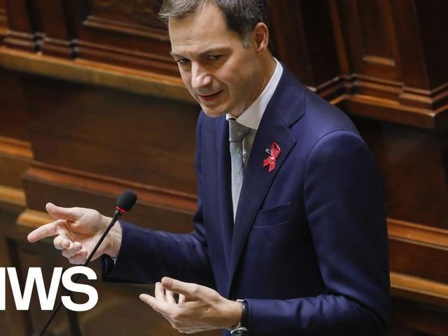 """Premier De Croo (Open VLD): """"Minister De Block baseerde zich op advies Sciensano om 22 miljoen maskers te vernietigen"""""""