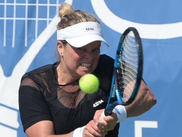 WTA Chicago: Kim Clijsters gagne un set, offre une belle résistance à Hsieh, mais s'incline au 1er tour