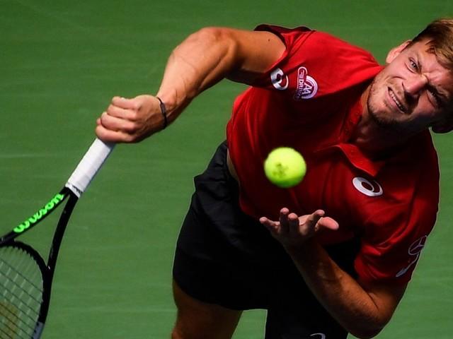 Goffin concède le 1er set face à Djokovic en demi-finale à Tokyo