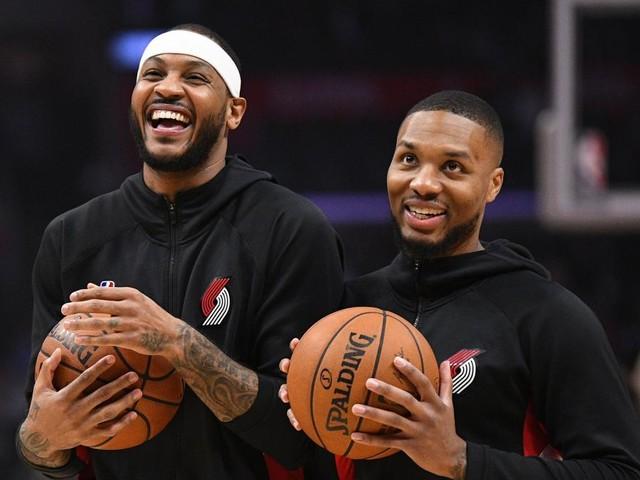 NBA: Portland scelle le contrat de Carmelo Anthony jusqu'à la fin de la saison