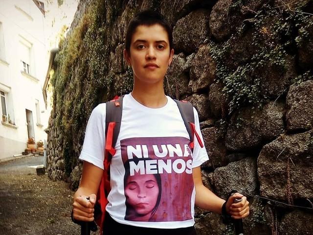 Contre les féminicides, Marie Albert marche 700 kilomètres sur la route de Compostelle