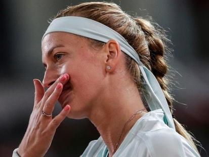 Roland-Garros: Petra Kvitova, blessée au bras gauche, annonce son forfait