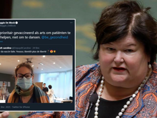 Maggie De Block vivement critiquée après avoir réprimandé une médecin sur Twitter: «Votre remarque est inutilement blessante et humiliante»