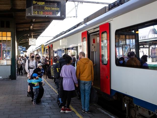 NMBS raadt treinrit naar kust af dit weekend: aanbod beperkt door werken