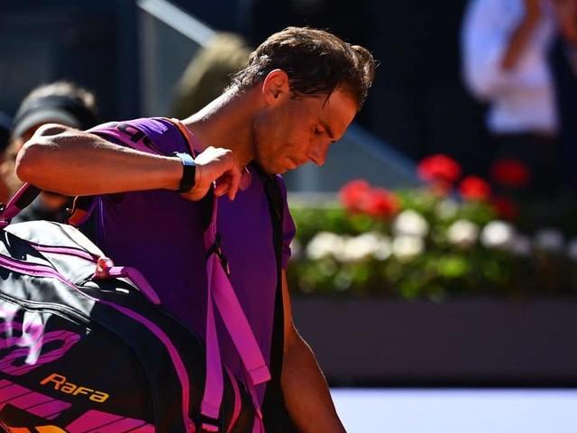 """Nadal a encore été battu sur terre: """"Ma confiance a pris un coup"""""""