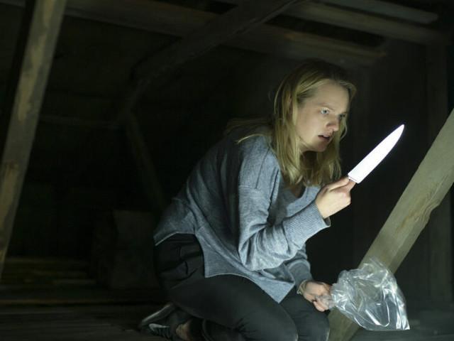 Une mini-série avec Elisabeth Moss en femme au foyer meurtrière