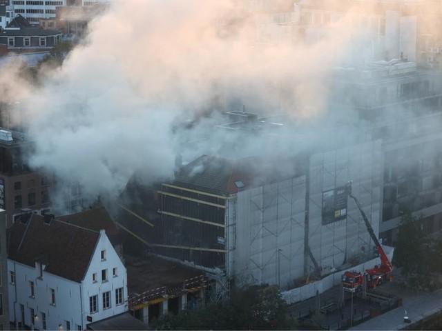 Brand op het Eilandje in Antwerpen is onder controle