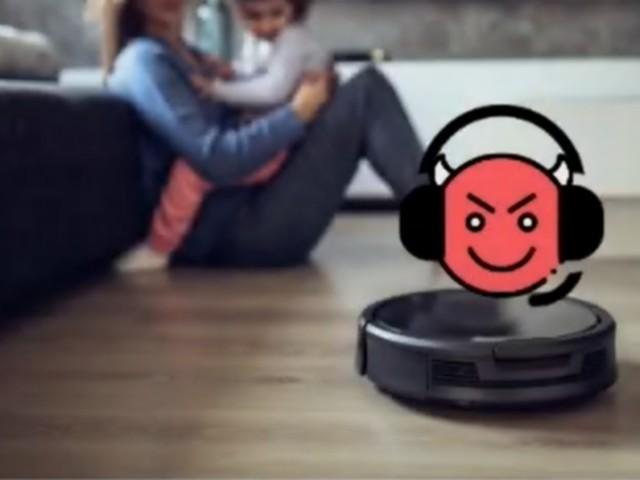 On peut espionner vos conversations grâce au laser de votre robot-aspirateur