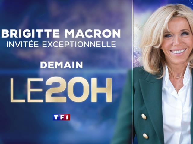 Opération Pièces jaunes : Brigitte Macron invitée du 20H dimanche sur TF1.