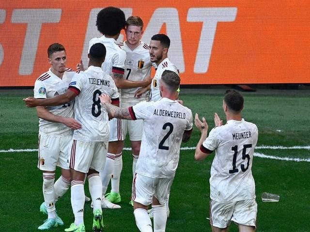 Retour en chiffres sur la victoire renversante de la Belgique contre le Danemark