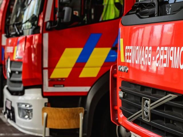 Incendie à Marche : une personne blessée, une autre intoxiquée
