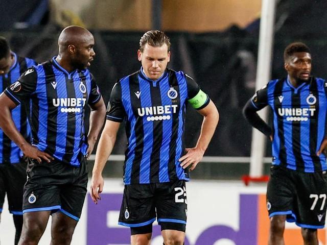 Europa League : le Club de Bruges, dernier représentant belge, éliminé après avoir été surpris dans les derniers instants par le Dynamo Kiev (0-1)