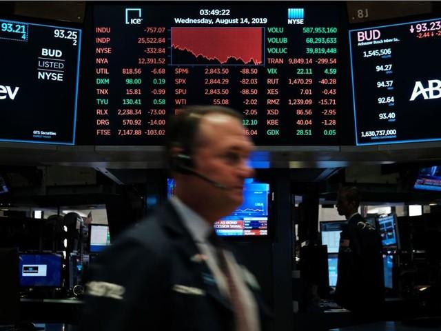 La peur d'une récession plombe Wall Street