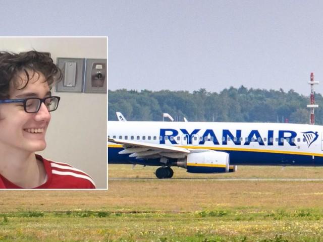 Le vol Ryanair de Sean, 17 ans, ne s'est pas passé comme prévu: «Ils lui ont dit que c'était la politique de la compagnie aérienne»