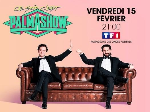 Le Palmashow pour la première fois sur TF1 le 15 février 2019