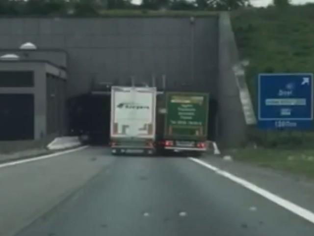 Trucker ontslagen na extreme verkeersagressie aan Beverentunnel