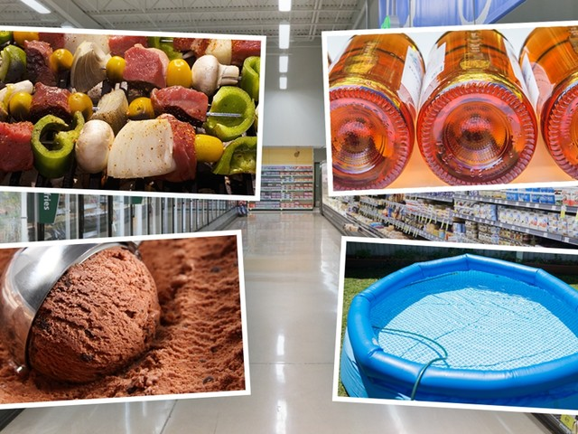 500.000 brochetten en 250.000 flessen rosé: zo bereiden de supermarkten zich voor op de hittegolf