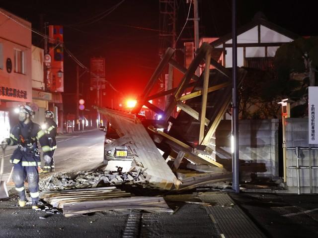 Japan opgeschrikt door aardbeving met kracht van 6,6