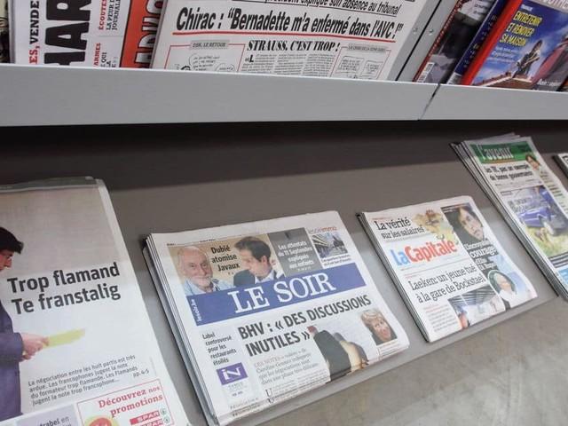 Les Belges font confiance aux médias traditionnels