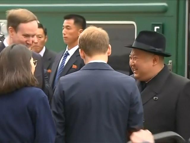 Kim Jong-un aangekomen in Siberië voor topontmoeting met Poetin