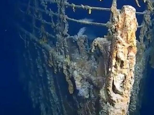 Les images époustouflantes du Titanic, filmé pour la première fois en haute définition: «C'est juste extraordinaire de voir tout ça» (vidéo)