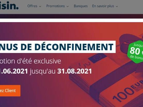 Raisin : jusqu'à 80 euros offerts pour l'ouverture d'un compte à terme
