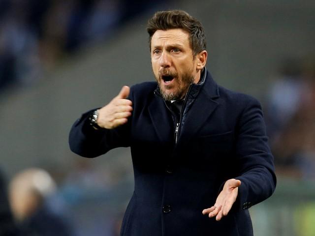 Eusebio Di Francesco is de nieuwe trainer van Cagliari