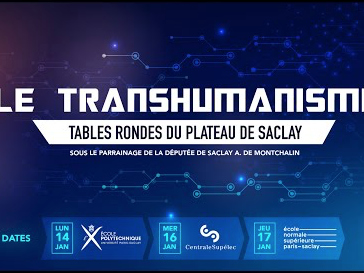Table-Ronde de l'X sur le Transhumanisme (avec Laurent Alexandre)