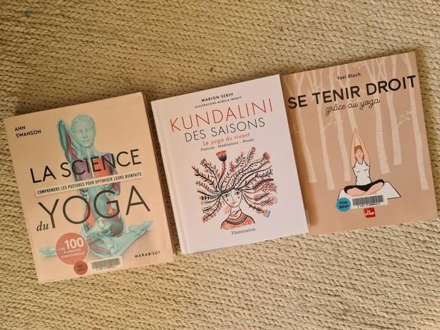 Yoga, pratique et livres