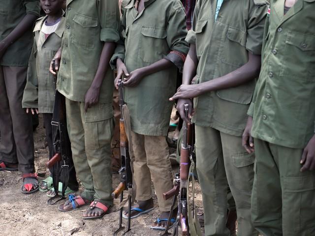 Soudan du Sud : l'Unicef manque de fonds pour venir en aide aux enfants soldats