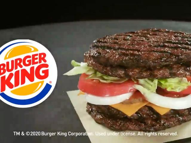 Burger King remplace les buns d'un burger par… de la viande