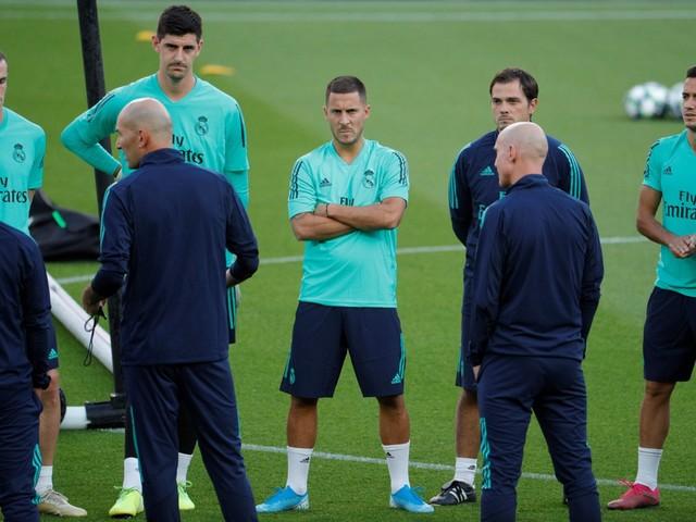 Eden Hazard start tegen PSG voor het eerst in de basis bij Real Madrid