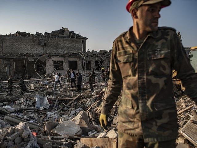 Staakt-het-vuren in Nagorno-Karabach lijkt maat voor niets