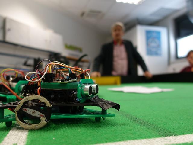 Il n'y aura pas de foot entre robots en France en 2021: la RoboCup est reportée