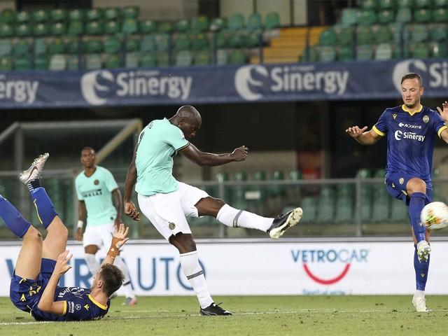 Inter lijdt opnieuw puntenverlies en zakt naar vierde plek, paal houdt Romelu Lukaku van 21ste goal