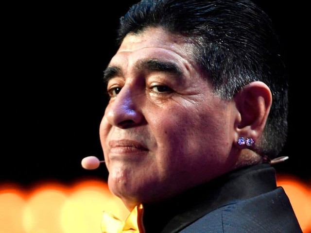 """L'Argentine célèbre les 35 ans du """"but du siècle"""" de Maradona contre l'Angleterre"""