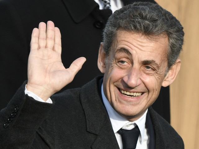 Nicolas Sarkozy en visite au QG des Républicains pour la première fois en 3 ans