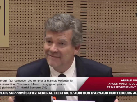 """""""L'UE ne nous protège pas, elle nous met à nu"""" Montebourg"""