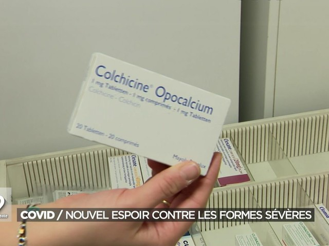 Moins d'hospitalisations et moins de décès: la Colchicine, médicament peu coûteux, réduit les risques de complications du Covid-19