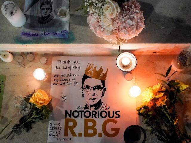Hoe opperrechter Ruth Bader Ginsburg een progressief icoon werd
