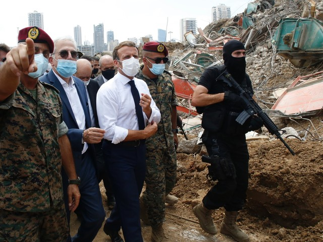 Explosions à Beyrouth : les dons internationaux affluent sous conditions