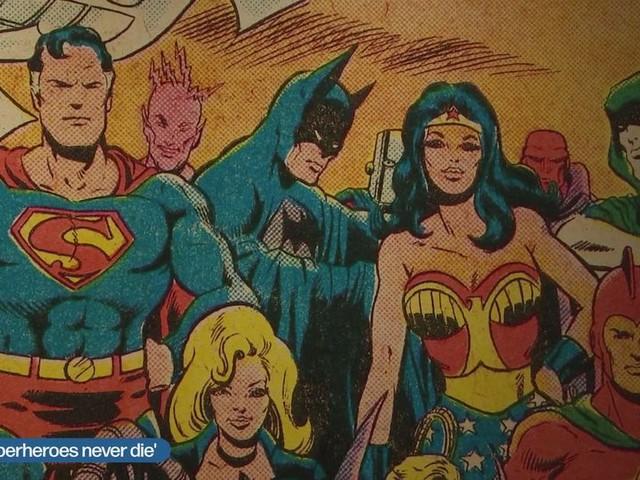 Superman, Batman, the Thing, eigenlijk zijn ze Joods