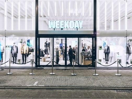 Voor eerst opent Weekday winkel in Gent