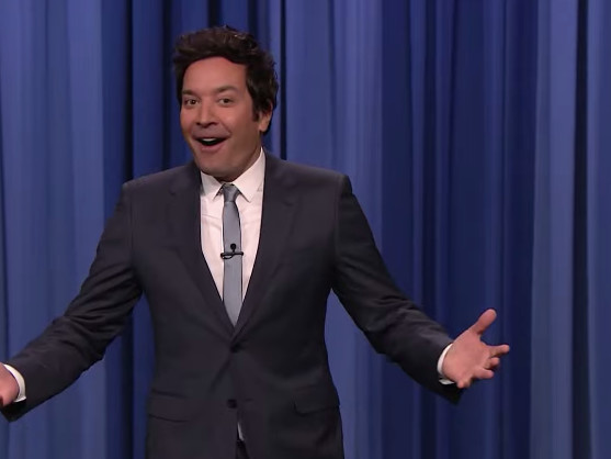Jimmy Fallon Is Psyched About Going Maskless