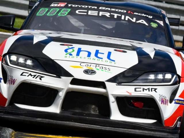 GT4 European Spa: Podium sur-le-fil en course 2 pour Lémeret-Potty à Spa !